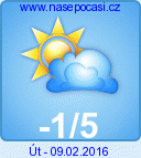 Weather in Orlice mountains - region: Ricky