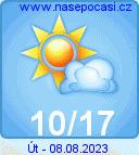 počasí za 3 dny
