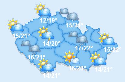 Počasí v ČR