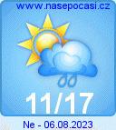 Předpověď počasí na 1.12.